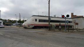 Las fuertes lluvias provocan un descarrilamiento de un tren entre Málaga y Sevilla