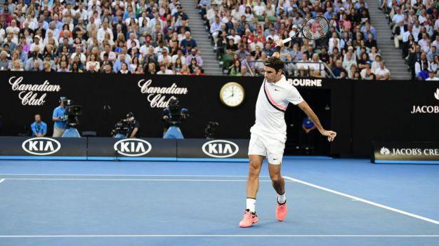 Federer: 'Le mandé un mensaje a Rafa para preguntarle cómo estaba'