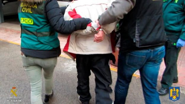 Detenido un peligroso fugitivo huido de la justicia rumana