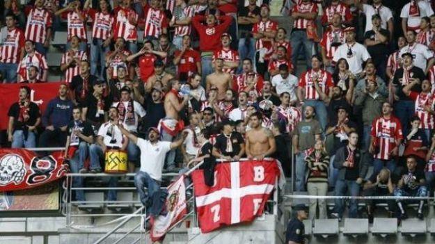 Antiviolencia propone una sanción muy grave de 75.000 euros al Sporting de Gijón por apoyar y favorecer las actividades del grupo radical