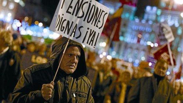 Los sindicatos reclaman nuevamente pensiones dignas al gobierno