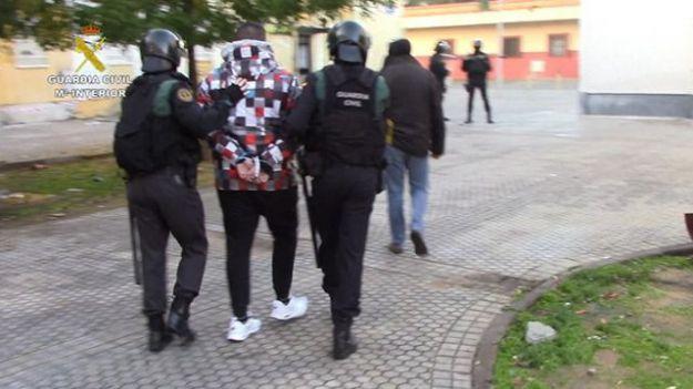 La Guardia Civil desarticula un grupo criminal itinerante especializado en robos violentos en Sevilla