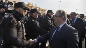 Zoido: 'La eficacia policial ha conseguido incrementar un 300% las incautaciones de cocaína y un 45% las de hachís en el Campo de Gibraltar'