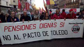 Los pensionistas seguirán con la lucha por sus pensiones