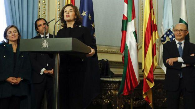 Soraya manda recaditos en un premio a la UE sobre nacionalismos