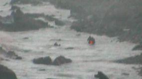 Rescatadas ocho personas tras zozobrar la embarcación en la que viajaban