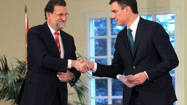 Rajoy y Sánchez se preparan para ampliar el 155 en Cataluña