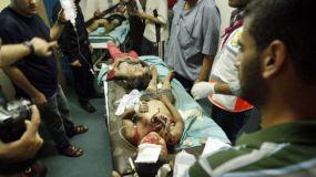 Mil niños heridos en un mes sí son una crísis humanitaria