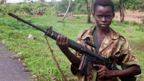 Otros 210 niños soldados en Africa son liberados