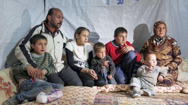 Los principales afectados de la guerra en Siria son mujeres y niños