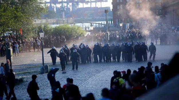 La Policía Nacional participa en un macro operativo europeo destinado a esclarecer los disturbios del G-20 en Hamburgo