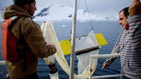 El Santuario de la Antartida ya tiene microplásticos