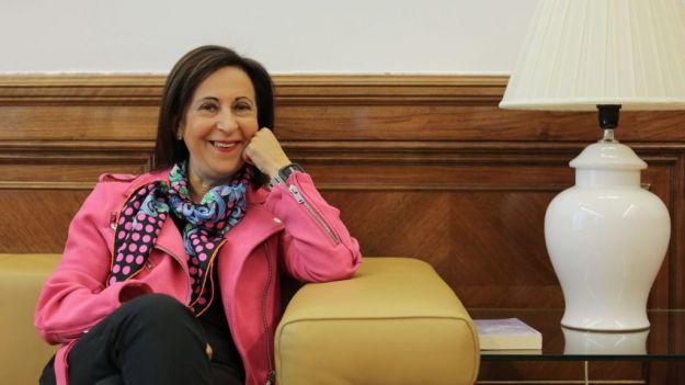 Margarita Robles: 'Es importante que un Ejército esté modernizado'