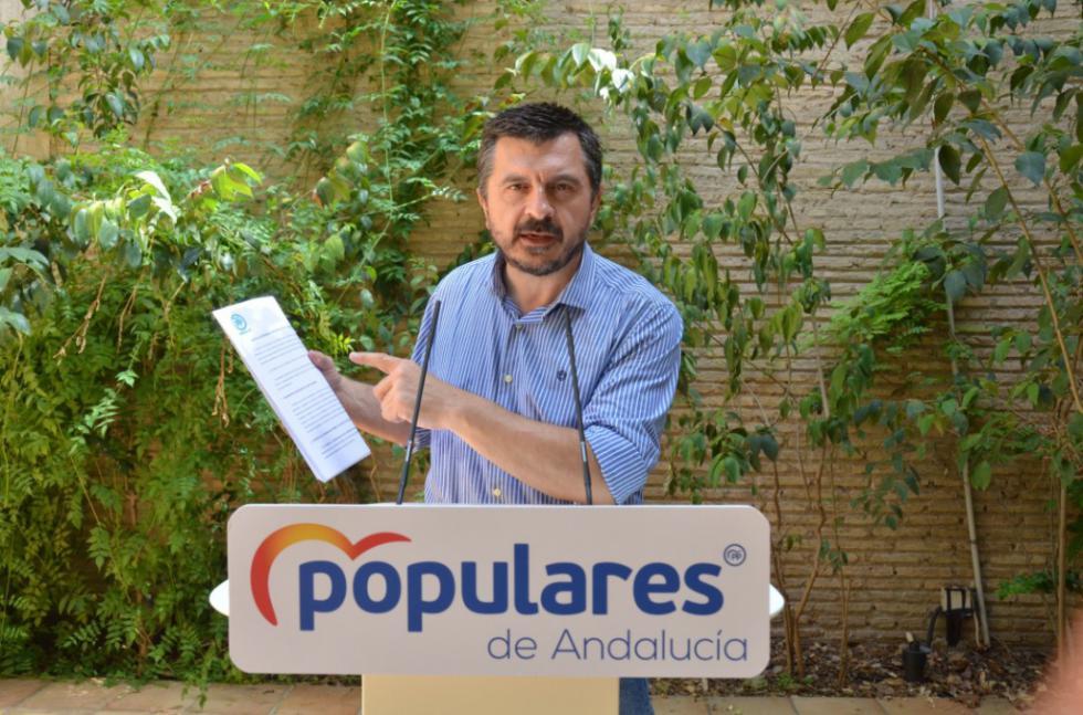 """Toni Martín: """"Para PSOE y Podemos sólo importan los sillones"""""""
