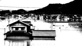 Las peores inundaciones en Japón desde 2004