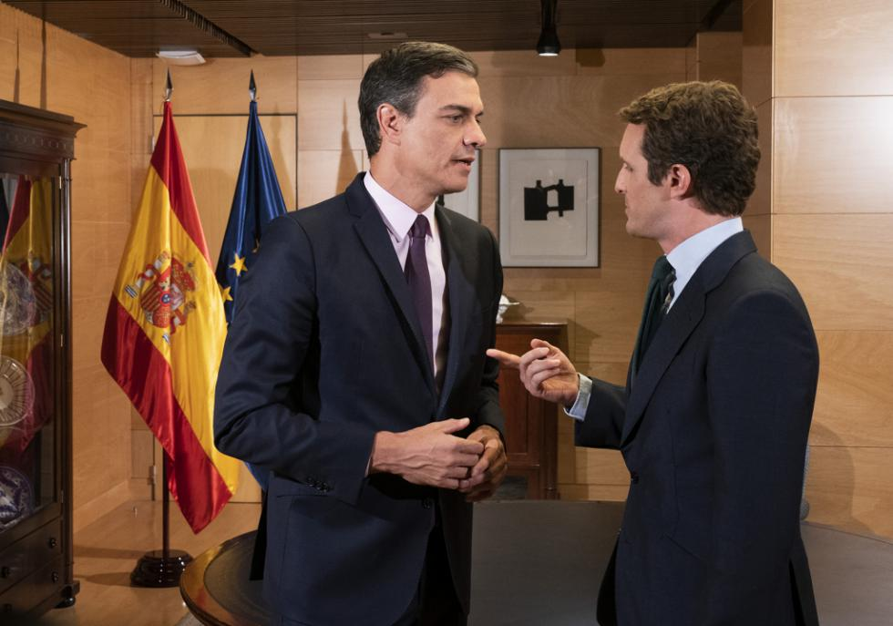 """Casado: """"Es Sánchez quien tiene la responsabilidad de desbloquear el proceso de investidura"""""""