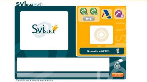SVisual, el servicio de video-interpretación en lengua de signos española