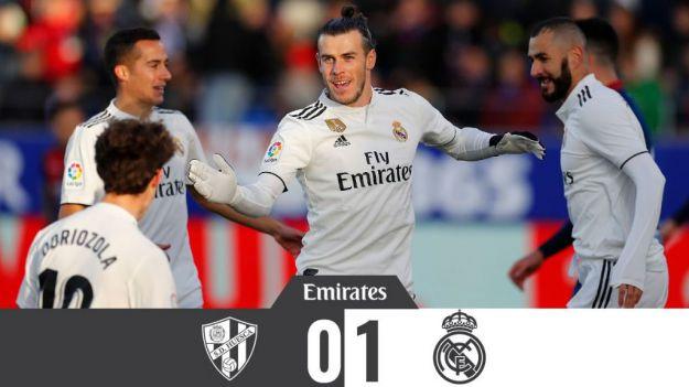 Un solitario gol de Bale da un respiro al Real Madrid
