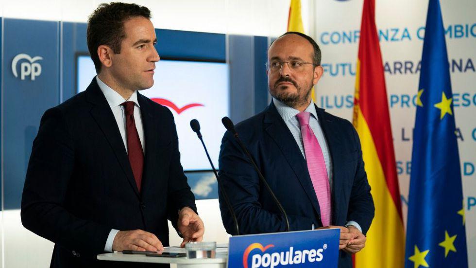 García Egea pide a Sánchez que 'tome las riendas' y devuelva 'la legalidad' a Cataluña