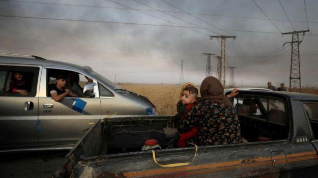 Cientos de miles de personas están en peligro en el norte de Siria