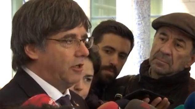 Aplazada la vista de extradición de Puigdemont hasta el 16 de diciembre