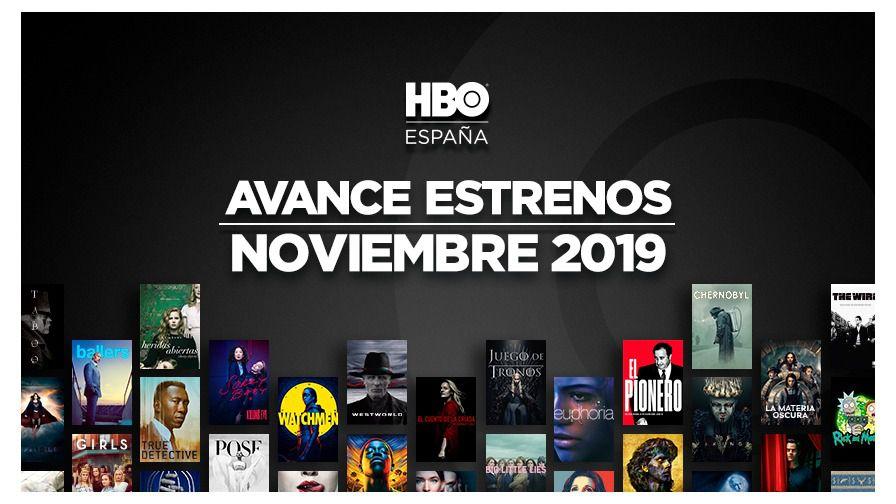 Avance de estrenos de noviembre en HBO