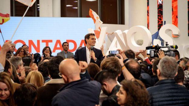 Rivera: 'Quiero ser un presidente que no sea un obstáculo ni un bloqueo para los españoles'
