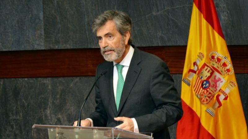 El presidente del CGPJ llama a defender 'España como nación'