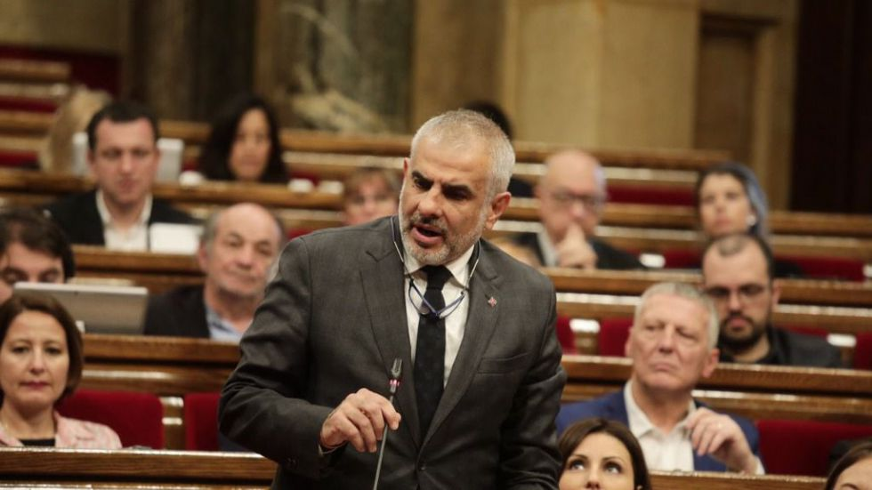 Carrizosa a Torra: 'Les gusta vivir peligrosamente, cuando no declaran por corrupción, lo hacen por desobediencia'