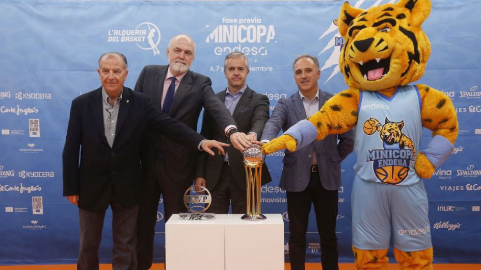 Minicopa Endesa: Presentada la fase previa en L'Alqueria del Basket