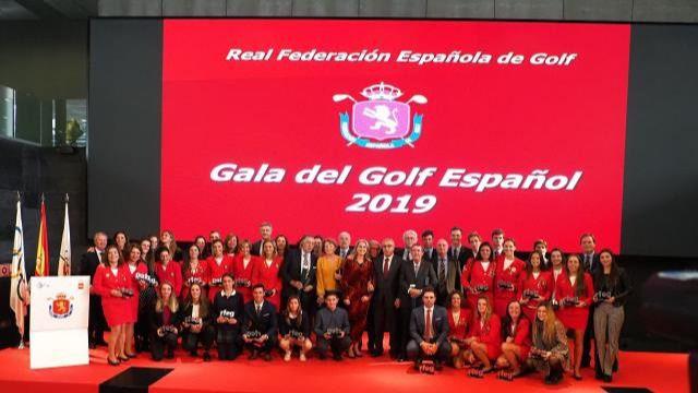 Gala del Golf Español 2019: La emotiva y exitosa hora del homenaje y del reconocimiento