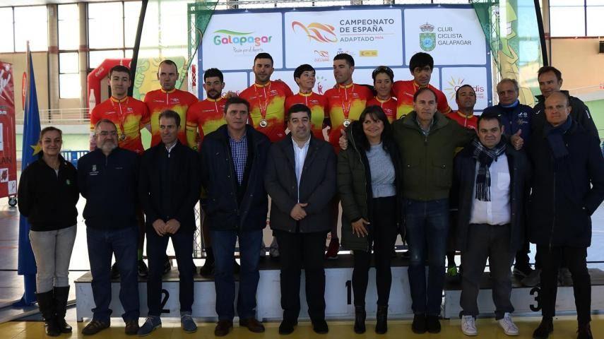 Concluye la edición 2020 del Campeonato de España de Ciclismo Adaptado en Pista