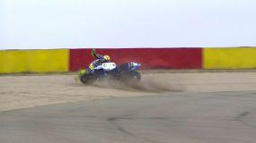 Valentino Rossi hospitalizado pero fuera de peligro