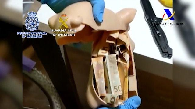 Desarticulada una organización criminal internacional dedicada al tráfico de drogas y al blanqueo de capitales