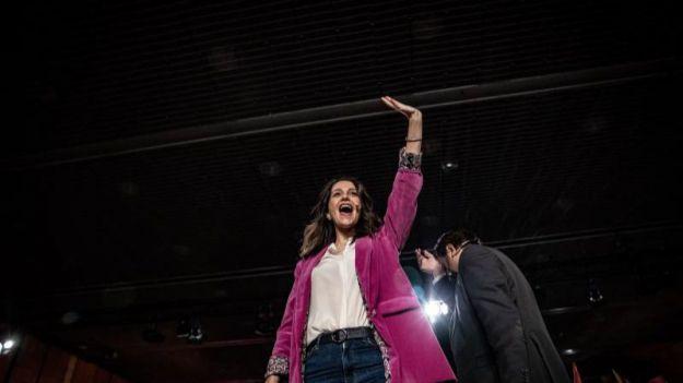 Inés Arrimadas gana las primarias de Ciudadanos con el 76,9% de los votos