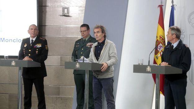 Casi 14.000 infectados de coronavirus en España y 558 fallecidos