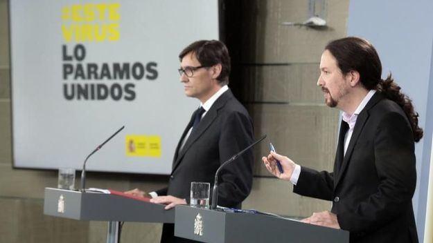 Pablo Iglesias: 'Ha habido escasez de equipos de protección individual'
