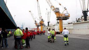 La huelga ya está perjudicando a nuestro tráfico portuario