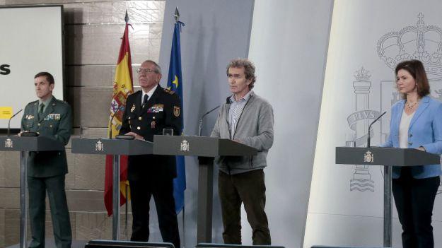España suma otro récord con 838 muertos en un día y un total de 6.528