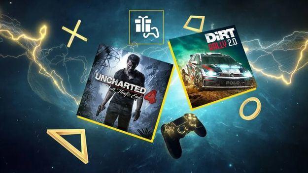 Uncharted 4 y DIRT Rally 2.0, tus juegos del mes en PlayStation Plus