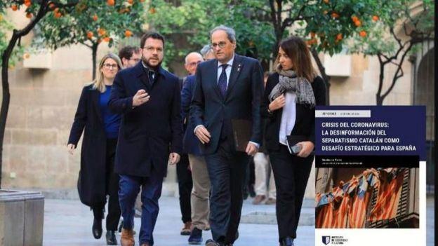 ¿Está utilizando el separatismo catalán el Covid-19 para