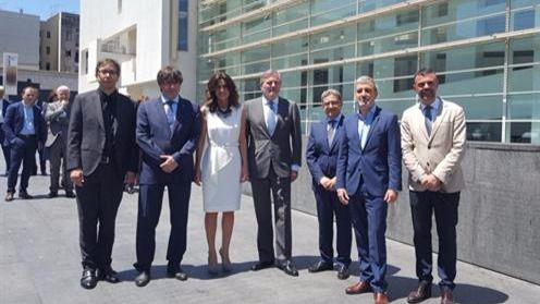 Méndez de Vigo: 'El MACBA es una ventana a la vanguardia, a la modernidad y a la cultura'