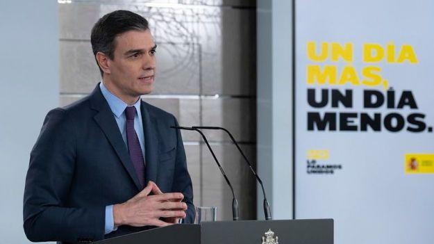 Sánchez alarga el estado de alarma y anuncia que no será la última vez