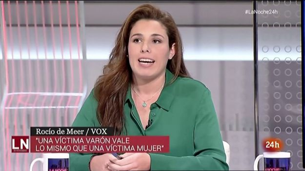 Una diputada de Vox insta al Ejército a evitar un golpe de Estado