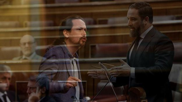 Pablo Iglesias arremete contra Vox: