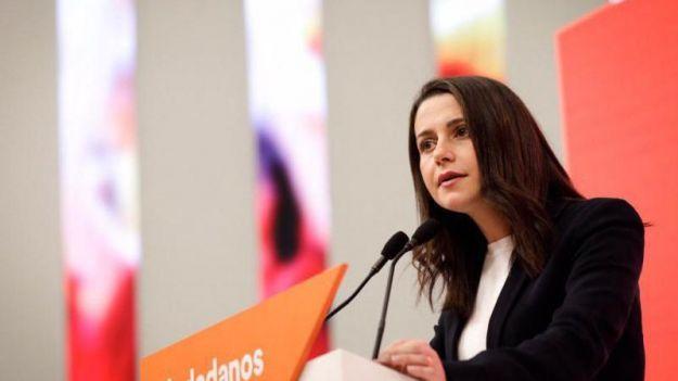 Arrimadas advierte a Sánchez que 'no puede dar por hecho' el apoyo de Ciudadanos