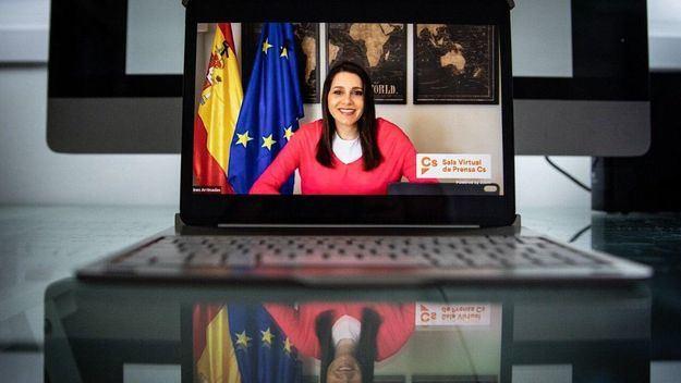 Arrimadas: 'Hoy se cumple la primera condición que Cs arrancó al Gobierno: desvincular los ERTE del estado de alarma'
