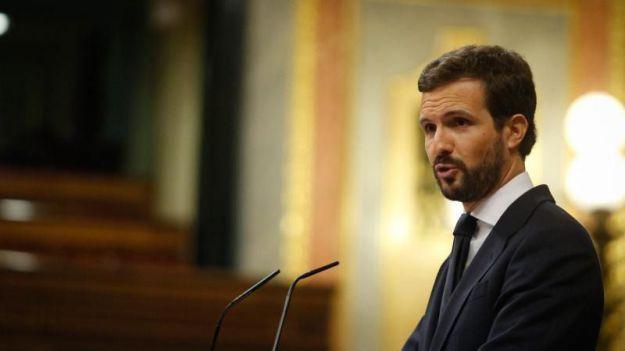 Casado a Sánchez: 'El Estado no es usted'