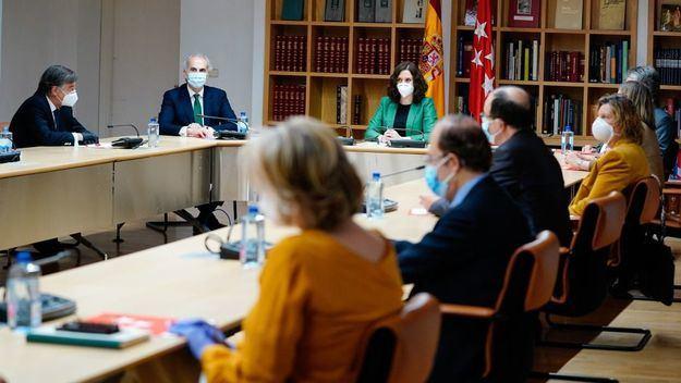 La Comunidad de Madrid detalla los datos reales del coronavirus en la región