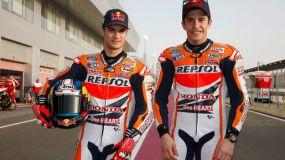 Márquez y Pedrosa se retan en montacespedes